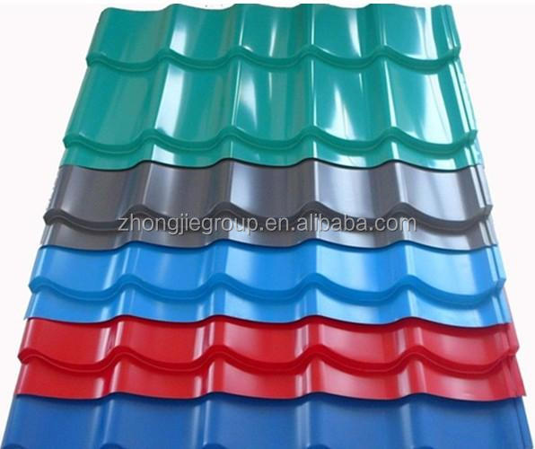 Colorful Steel Decorative Metal Roofs in Philippines