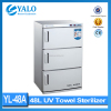 YL-48A uv towel warmer sterilizer/uv beauty tools sterilizer/hair salon uv sterilizer