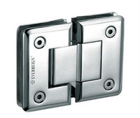 180 degree double side glass holder glass clamp glass door hinge
