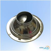 Nozzle ss jet ceiling diffuser for air conditioning and kitchen for hvac JET-SS