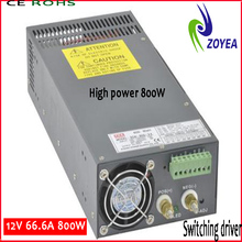 CE&ROHS approved high power 800W led driver ic 24V 220Vac 33.3A 2 years warranty