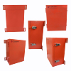 Mini Orange SGCC SPCC Electrical Junction Outdoor Panel Switch Box IP65 power box