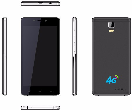 New product 4G 5.0 inch dual sim MT6735M android 5.1 smart phone