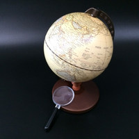 Retro World Globe Tellurion Realia Geography Global Map