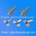 Plastic or zinc alloy soft closer/cabinet control damper