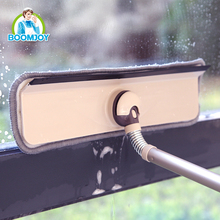 Boomjoy C5 Hot new window cleaning equipment, cowhells plastic squeegee with long handle for window, cars