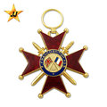 Cheap promotion hot sale cross blank custom medal maker