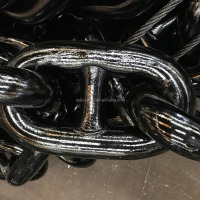 High Strength Black Painted Anchor Chain