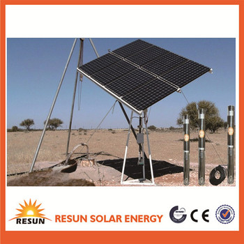 China large power solar water pump system for irrigation