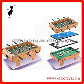Multifunction 4 in 1 MDF game table,desk top game