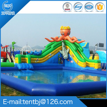 Design cheap Inflatable Bouncer water for Sale