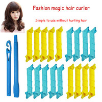 New design cheap colourful small woman spiral hair curler as seen on tv