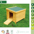 Small wooden poultry crate rabbit hutch for sale