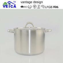 High Quality Popular Stainless Steel Cooking Pot / Sauce Pot / Casseroles