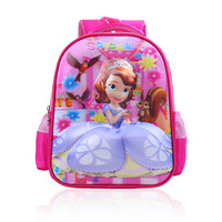 3-6 years old Kids Cartoon Dora Sofia School Bags 12 inch