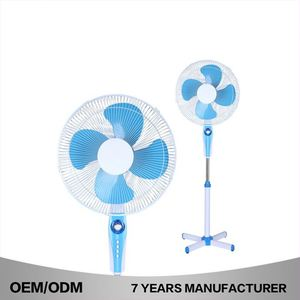 "New Design Plastic Stand Fan Spare Parts Electric 16"" Stand Fan With Remote Control"