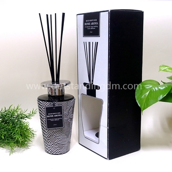 High-End Reed Diffuser With Black Sticks For Gift Set