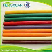 colorful 120*2.2cm round woodn paint sticks for house cleaning