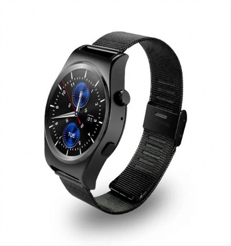 Factory new coming Smart Watch Phone 5.0MP camera 1.54inch Android 4.4 MTK smart watch wifi