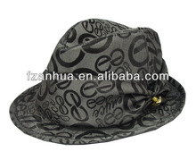 purple fedora hat and custom fedora hat