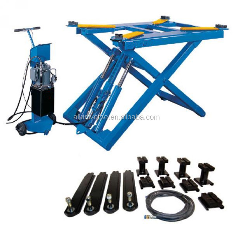 Mobile Mini Tilting Car Lift for Auto Repair