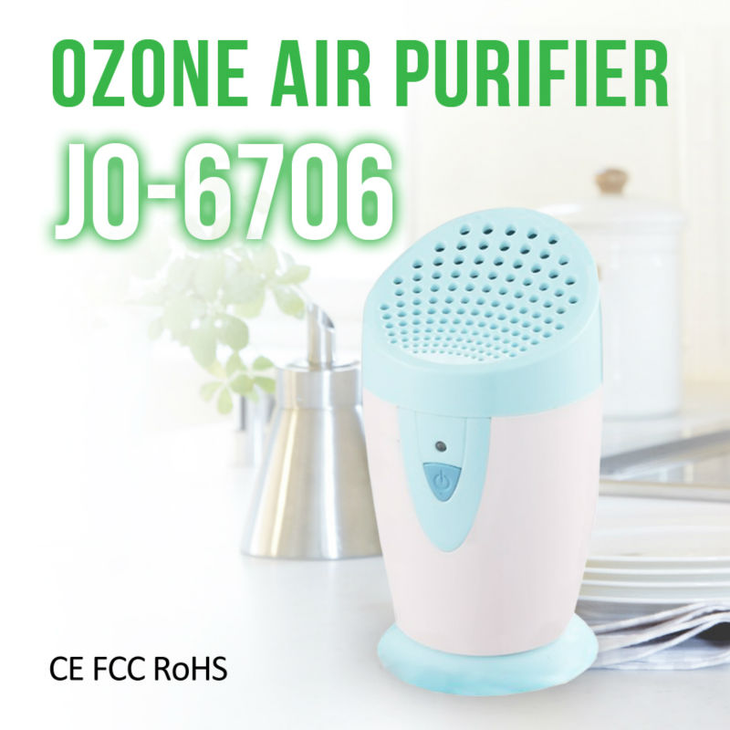 Kitchen Appliance Portable Home Deodorizer Ionizer Battery Ozone Air Purifier