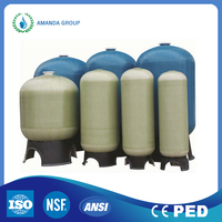 frp vessel /frp pressure tank of high quality for water purifier