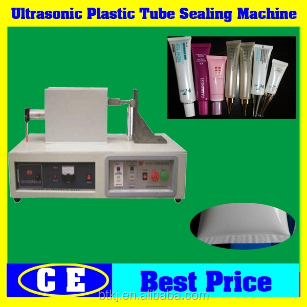 Date printing and automatic plastic cosmetic tube sealing machine