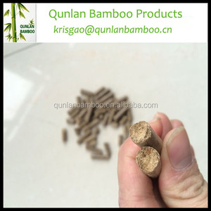 High value cheap bamboo wood sawdust fuel pellet