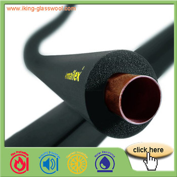 Heat Insulation Rubber Foam Insulation Tube used for HVAC