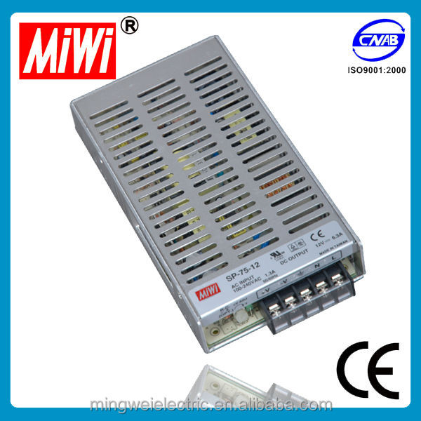 SP-75-3.3 75w 3.3v Single Output LED Power Switching Supply with PFC function 3.3v ac dc power adapters
