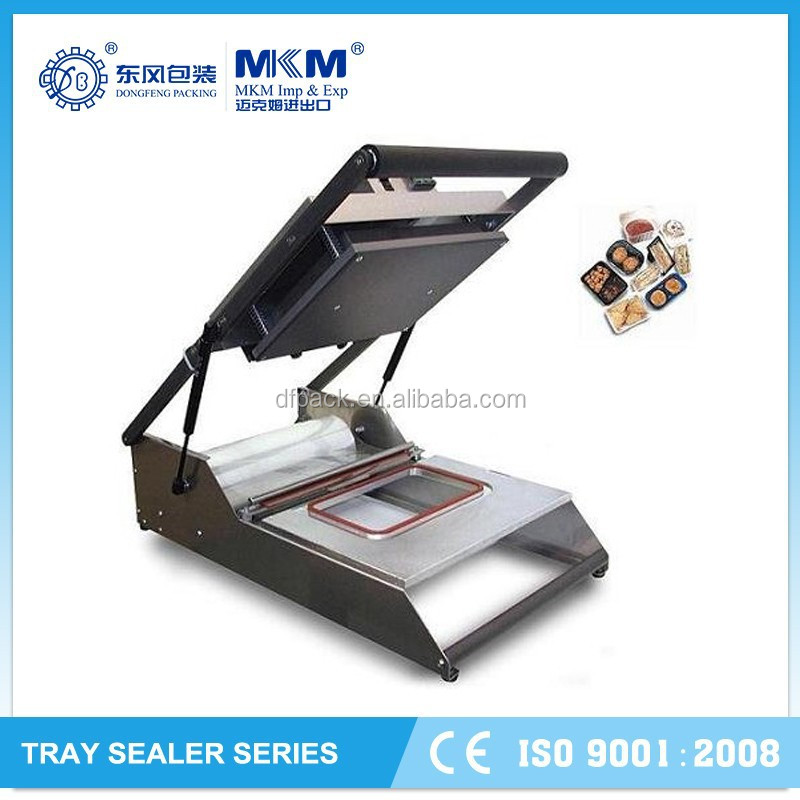 2015 tufu,fast food tray sealer used for Supermarket