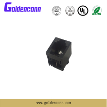 rj11 female connector 6P2C/6P4C/6P6C for telephone