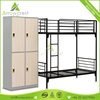 Factory directly operator prefab mobile dormitory metal bed with locker