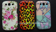 New Designs TPU & IMD Back Hard Case Cover Skin for Samsung Galaxy S3 I9300