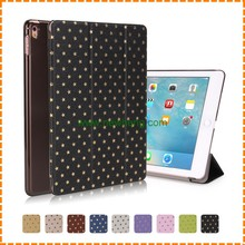 High quality Ultra Thin Folding star Leather Smart Cover For iPad Air 2