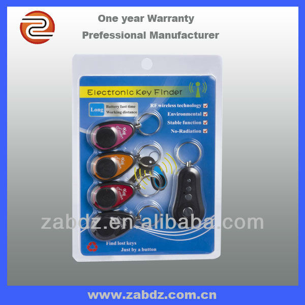 4ch RF wireless keychain phone finder