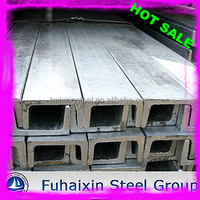 Mild Iron Steel U Channel Standard Sizes