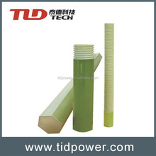 High strength solid fiberglass rod