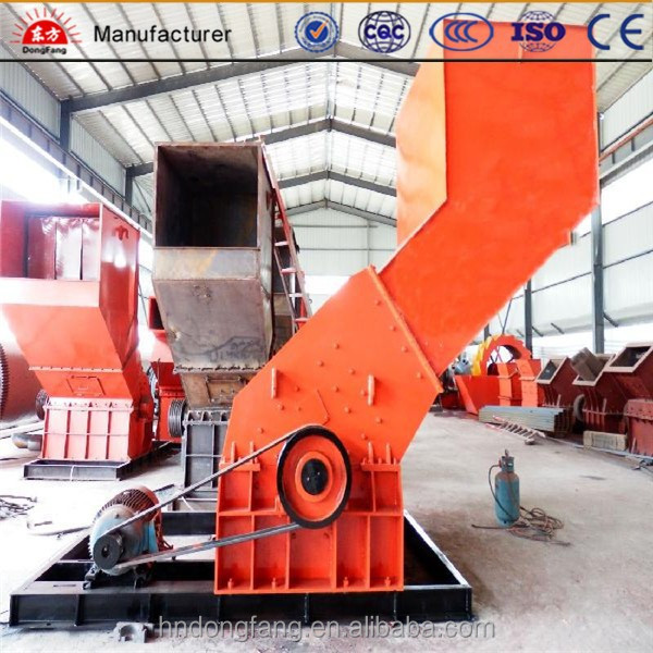 High crushing ratio aluminium can metal crusher machine/ metal crusher manufacturer