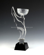 2015 New Design NEW ARRIVAL crystal trophy and award