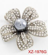 XZ-1976H New arrival top quality fraternity shield lapel brooch from China