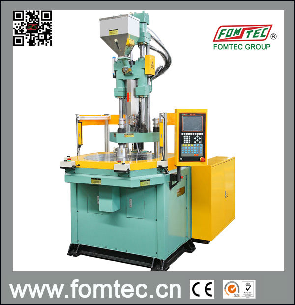 Rotary Table Plastic Injection Molding Machine(40TON)