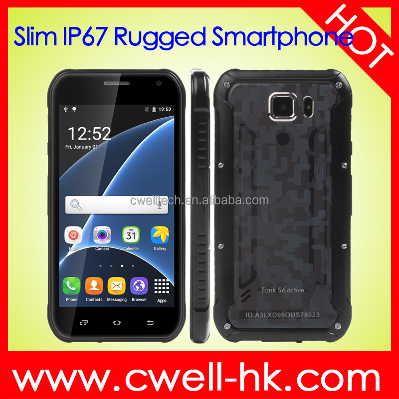 China Suppliers Mobile Phone ES Tank S6 Active 5 inch Rugged Smartphone