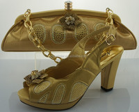 wholesale Italian matching shoe and bag set for party(ME0055)