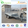 New design car hauler trailer double axle trailer