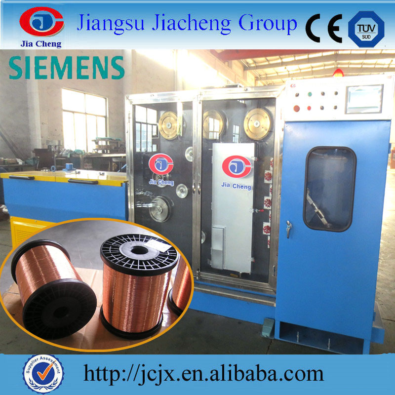 Copper/Aluminium wire drawing+annealing machine, cable making machinery