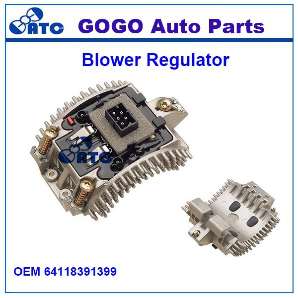 High Quality Fan Blower Motor Resistor for B-M-W 7 Series OEM 64118391399 64 11 8 391 399 / 8 391 399
