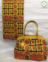 wholesale aafrican wax prints fabric matching bags for women