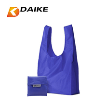 Factory Supply OEM Nylon tote foldable shopping bag